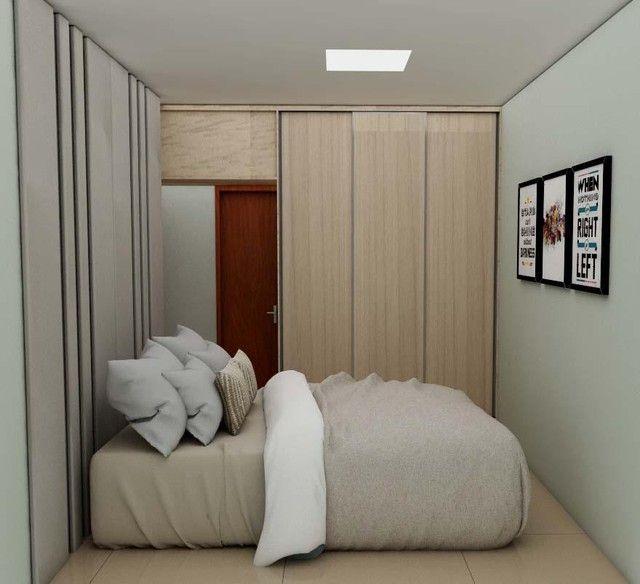 Apartamento 02 quartos com suíte bairro Santa Terezinha - Foto 3