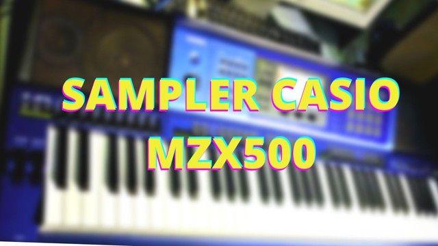 SAMPLER CASIO MZX500