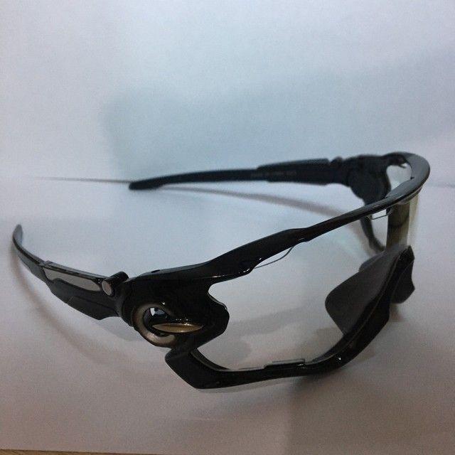 Óculos Ciclismo Sol e Transparente  - Foto 2