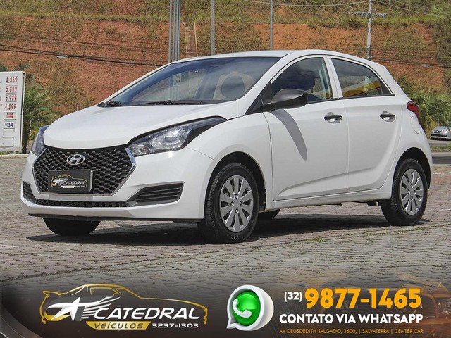 Hyundai HB20 Unique 1.0 Flex 12V Mec. 2019 *Novíssimo* Carro Impecável* Aceito Troca - Foto 3