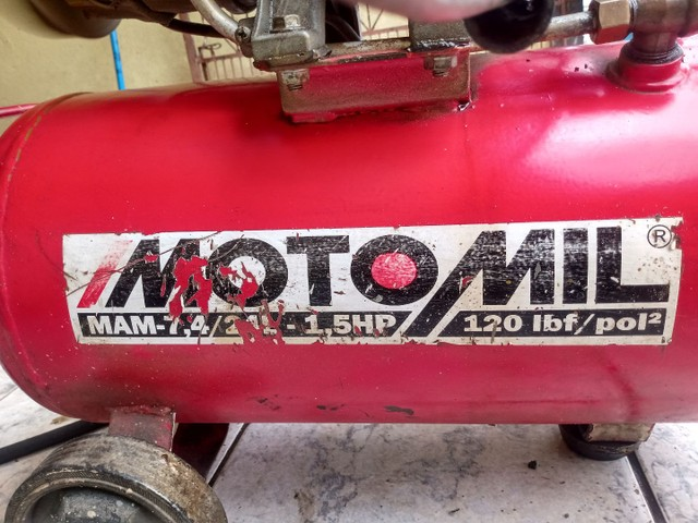 Compressor MOTOMIL 24L - Foto 4
