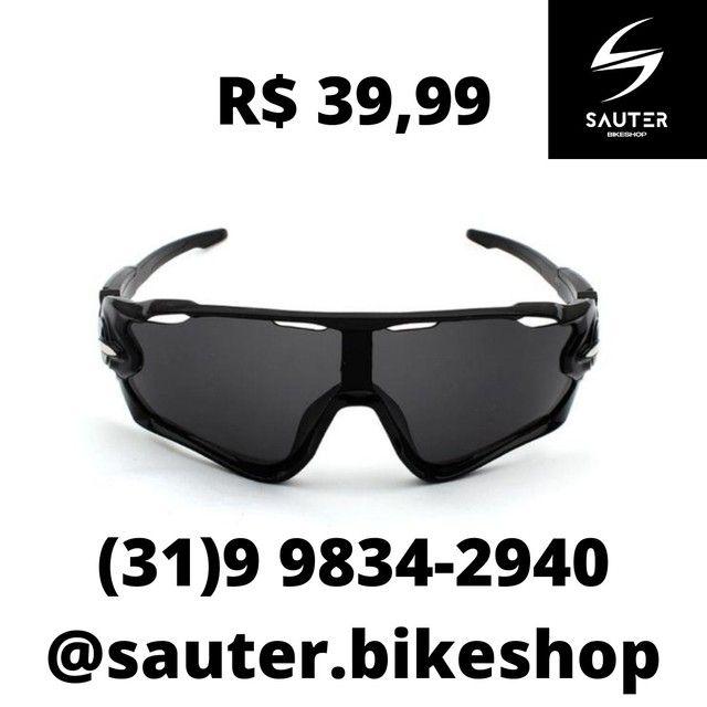 Óculos Ciclismo Sol e Transparente  - Foto 5