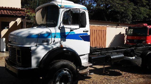 M BENZ 1516 84-84 TOCO BRANCO CHASSIS