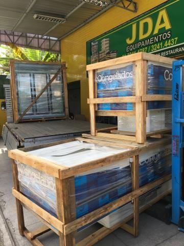 Ilha /freezer para congelados ou resfriado 2,00m Fricon-supermercado/padaria - Foto 2