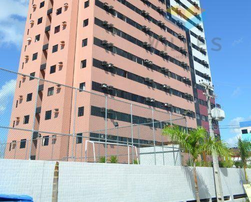 Apartamento residencial à venda, Serraria, Maceió.