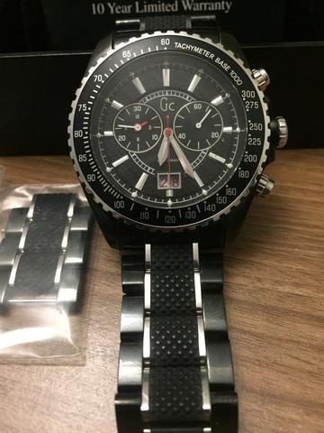 Relógio Guess Collection Original em Aço Preto