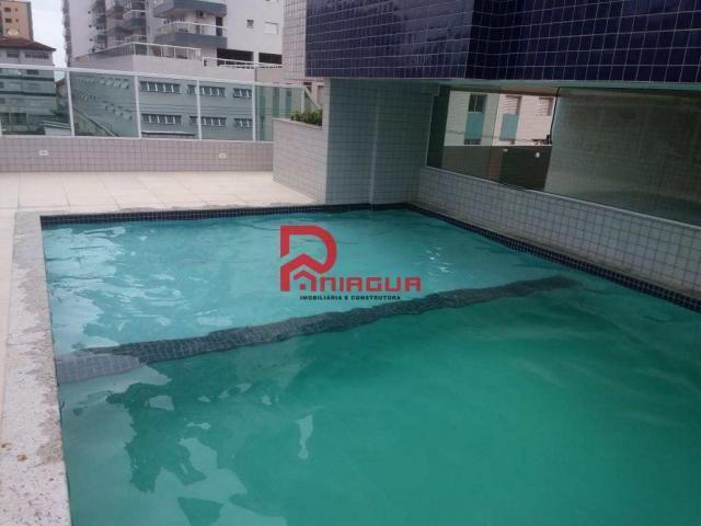 Apartamento para alugar com 2 dormitórios em Ocian, Praia grande cod:1088