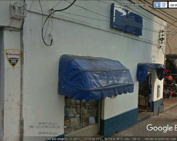 Passa-se excelente Ponto Comercial. Duas frentes. Centro Cuiabá-MT - Foto 4