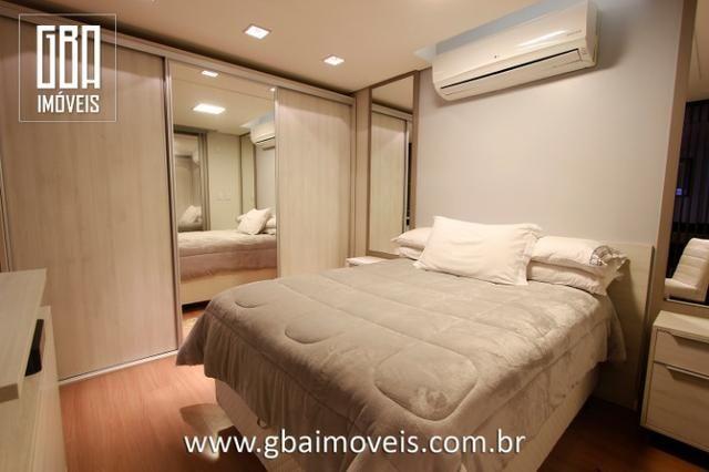 Studio Residence 100% mobiliado, 1 dorm, sacada e 1 vaga - Pelotas/RS - Foto 10