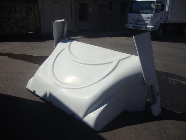Defletor de vento para caminhaes volks - Foto 2