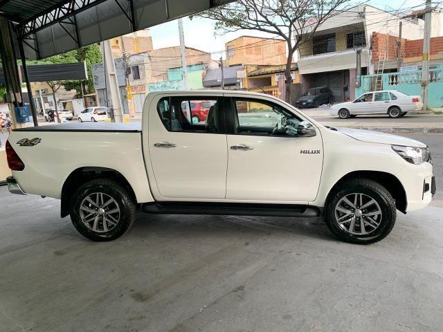 Hilux SRV 2.8 Branca 4X4 Diesel 2020 0KM - Foto 5