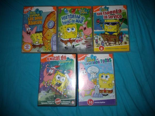 Coleção DVD Bob Esponja