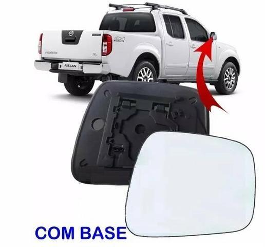 Lente Com Base - Retrovisor da Nissan Frontier
