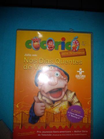 DVD Cocoricó - Júlio, Nos Dias Quentes de Verão