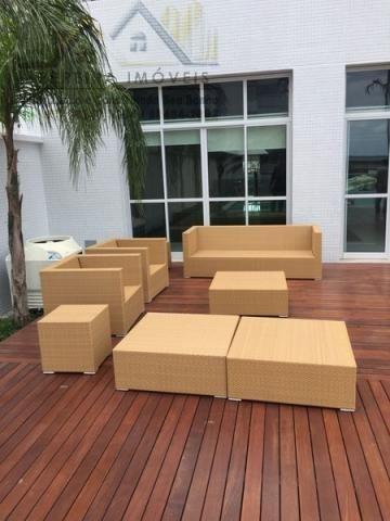 103 - Edifício Mandarim, apartamento 51 m2, locação R$: 3.500,00 com condomínio - Foto 10