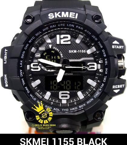 c2ab9629450 Relógio Masculino Skmei S-shock Prova D água Mod 1155 Esportivo Entrega  Grátis