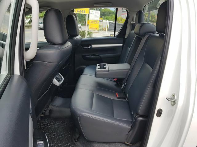 Hilux SRV 2016 Único Dono Rodas SRX 2.8 Automática 4x4 pneus Novos - Foto 7
