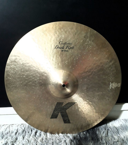 Ride Zildjian Custo Dark <br>20 polegadas
