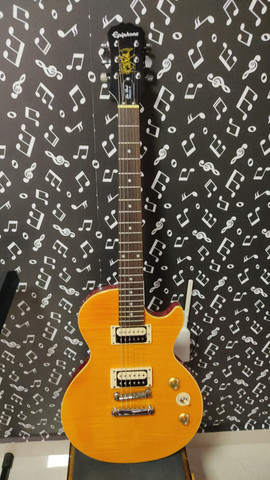 Guitarra Ephipone slash - Foto 4