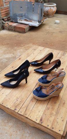 Sandalhas seminovas... - Foto 6