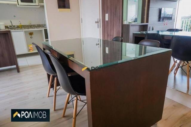 Apartamento com 2 dormitórios para alugar, 60 m² por R$ 2.652,00/mês - Cristo Redentor - P - Foto 14