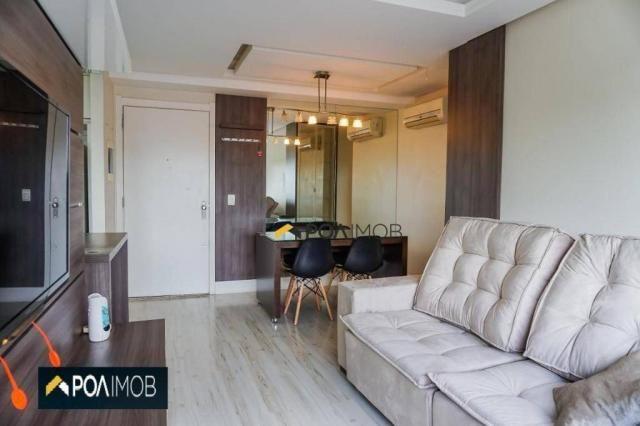 Apartamento com 2 dormitórios para alugar, 60 m² por R$ 2.652,00/mês - Cristo Redentor - P - Foto 2