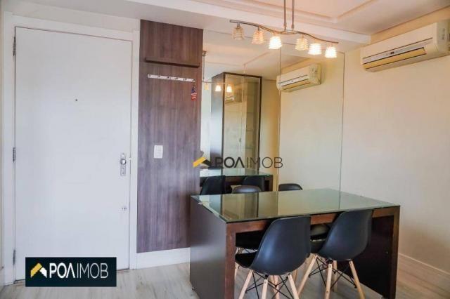 Apartamento com 2 dormitórios para alugar, 60 m² por R$ 2.652,00/mês - Cristo Redentor - P - Foto 4