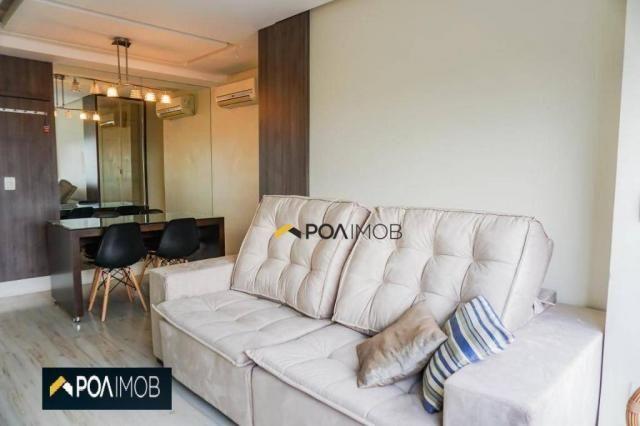 Apartamento com 2 dormitórios para alugar, 60 m² por R$ 2.652,00/mês - Cristo Redentor - P - Foto 3