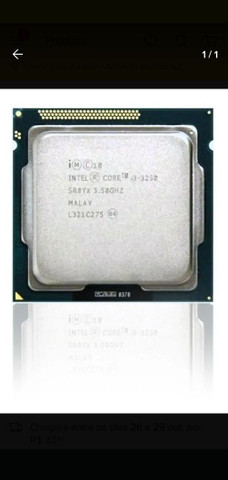 Processador Intel Lga 1155 Core I3-3250 3