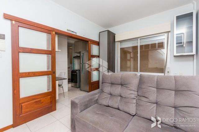 Apartamento à venda com 1 dormitórios em Bom fim, Porto alegre cod:9923329