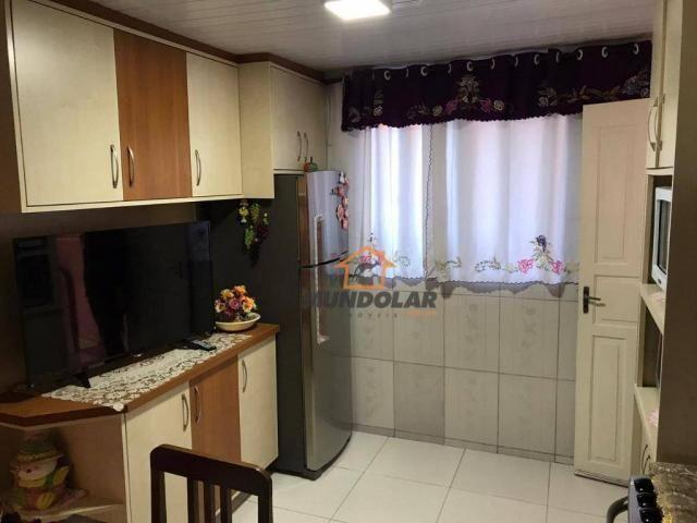 Casa com 3 dormitórios à venda, 80 m² por R$ 250.000,00 - Capela Velha - Araucária/PR - Foto 9