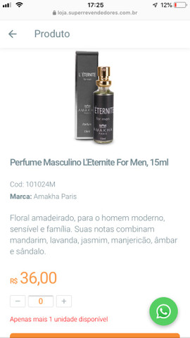 Perfume Invictos  - Foto 4