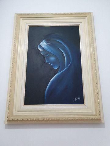Quadro - Senhora do Silêncio