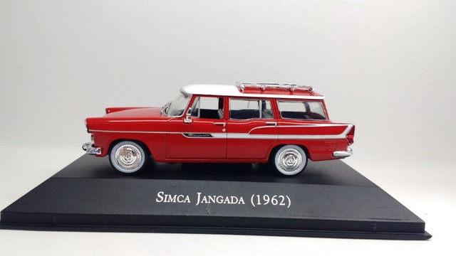 Miniatura carros inesquecíveis Sinca-Jangtada