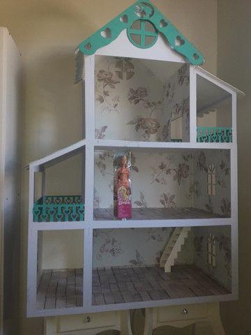 Casa boneca barbie mdf grande - Foto 3