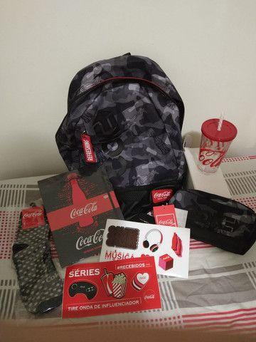Kit Coca cola novo (nunca usado)
