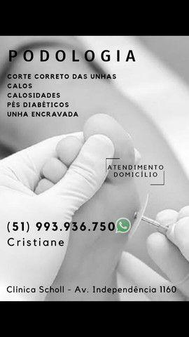 Podólogia atendimento domicílio e em clinica