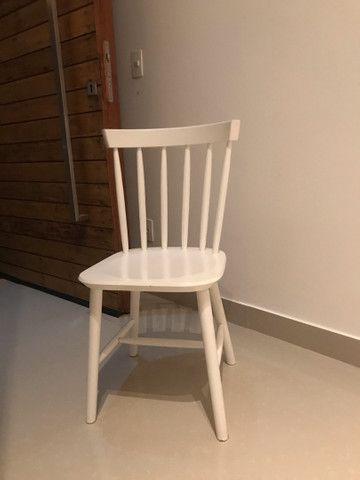 Cadeiras Tokstok madeira branca
