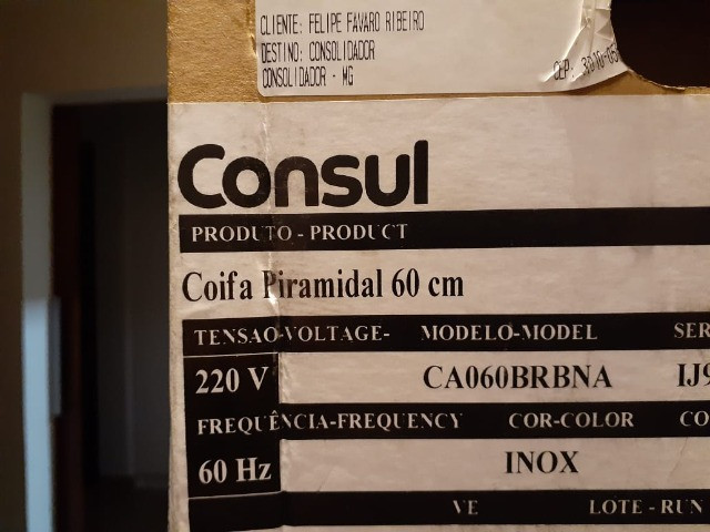 Coifa de Parede Consul - Foto 4