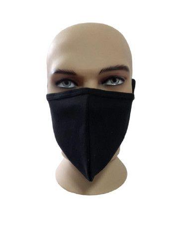 Máscara de tecido duplo lávavel, á partir de 100 pçs 1,00 - Foto 2