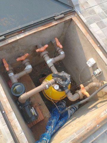 Tratamento e limpeza de piscinas e manutenção em filtros  - Foto 4