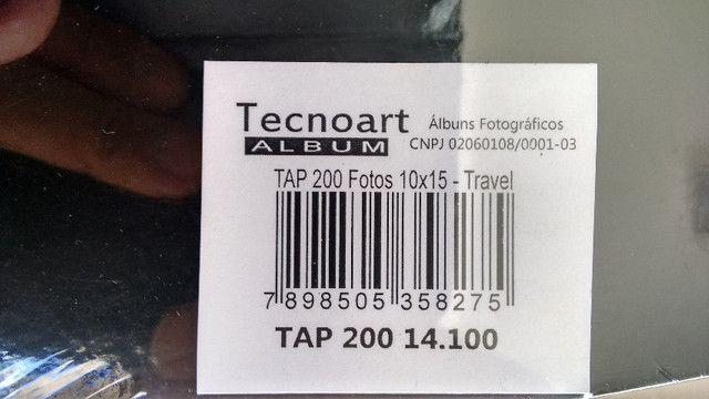 Album para fotografia (fotos), marca Tecnoart Albuns. Capacidade: 200 fotos de 10 X 15 cm - Foto 5