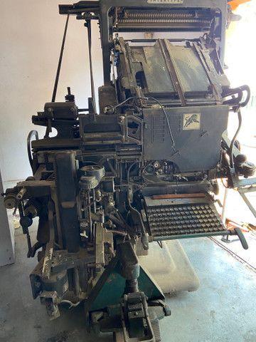 Parque gráfico completo corte vinco relevo seco tipografia - Foto 5