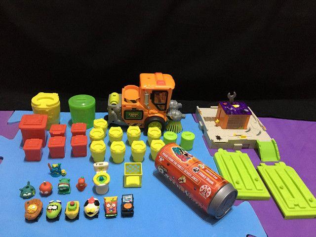 Brinquedo Trash Pack lote