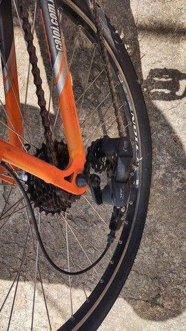 Bicicleta Caloi Aluminio Aro 26 - 21 marchas com kit Shimano Turney Megarange - Foto 3