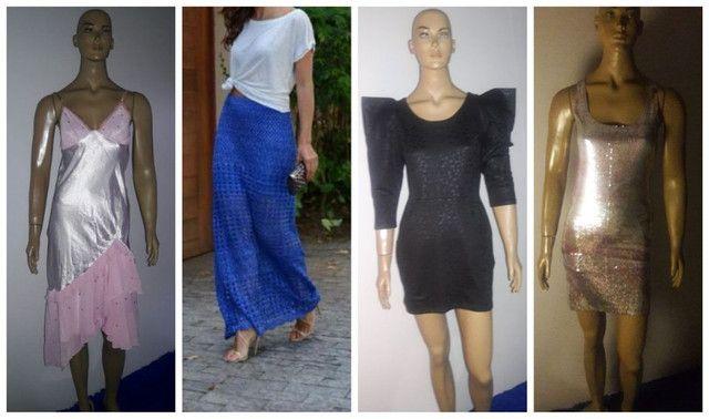 """Leia Descrição + Vestidos Saias """"Cada"""" Shop 126 + Isabel Modas P Novos Originais"""