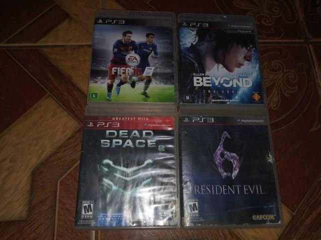 Troco esses 4 jogos originais de PS3.