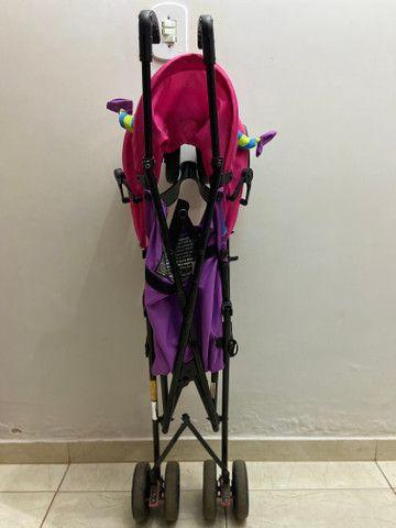Carrinho de Bebê Voyage Monster -Rosa - Foto 3