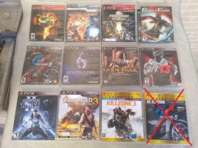 Jogos PS3 e PSvita originais