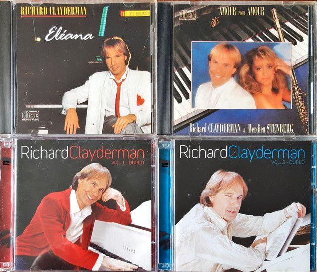 CDs RICHARD CLAYDEMAN originais - Foto 5